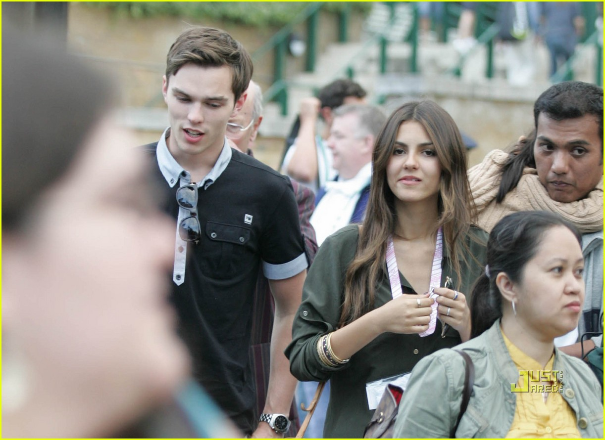 EXCLUSIVE... Nicholas Hoult Out With Mystery Women!