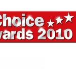 Skins на TVChoice Awards 2010