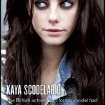 Kaya Scodelario в VMagazine