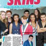 Skins в журнале Bliss (сканы, англ.)