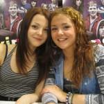 Интервью Kathryn Prescott и Megan Prescott в Хельсинки (англ.)