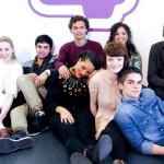 Фото с пресс-конференции, посвященной началу 6-го сезона Skins