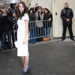 Кая на Неделе моды в Париже