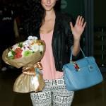 Kaya Scodelario Arrives in Seoul