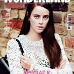 Кая в журнале Wonderland