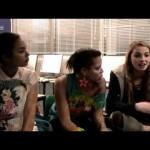 Видео-интервью Laya Lewis, Freya Mavor, Jessica Sula